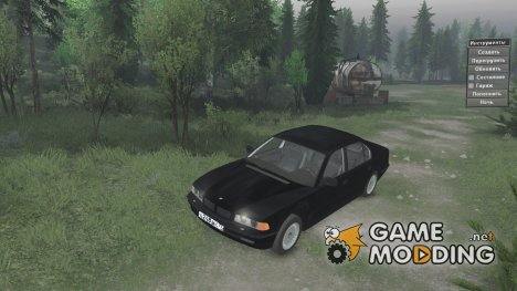 "BMW 750LI E38 ""бумер"" for Spintires 2014"