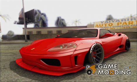 Ferrari 360 LB Work's L3D for GTA San Andreas