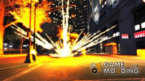 Новые эффекты взрывов v1.1 для GTA 4