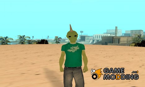 Инопланетянин V4 for GTA San Andreas