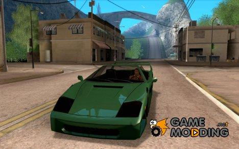 Turismo cabriolet v 2.0 для GTA San Andreas