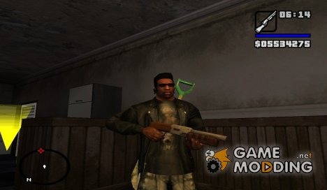 Дробовик из Quake для GTA San Andreas