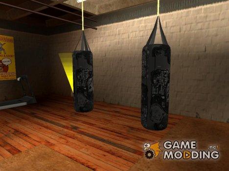 Боксерская груша в стиле карты GTA 4 for GTA San Andreas