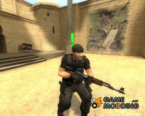 Soldner Guerilla Skin for Counter-Strike Source