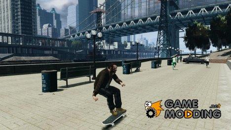 Скейтборд №1 for GTA 4