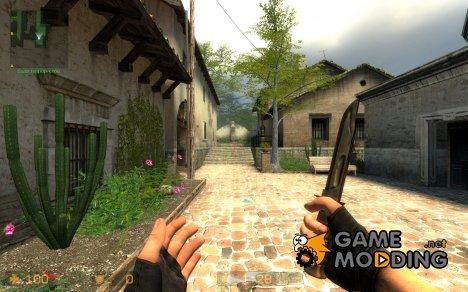 Rusty Ka-Bar for Counter-Strike Source