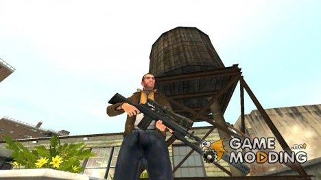 Полуавтоматическая винтовка M14 v.4 for GTA 4