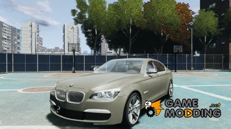 BMW 750i F01 v3 for GTA 4
