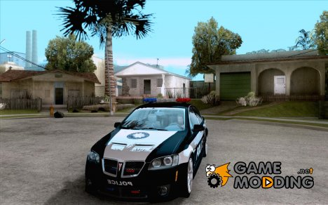 Pontiac G8 Police for GTA San Andreas