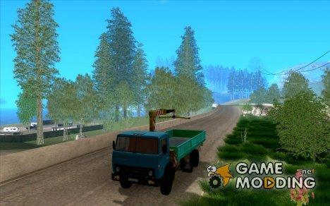 КАМАЗ 53212 манипулятор for GTA San Andreas
