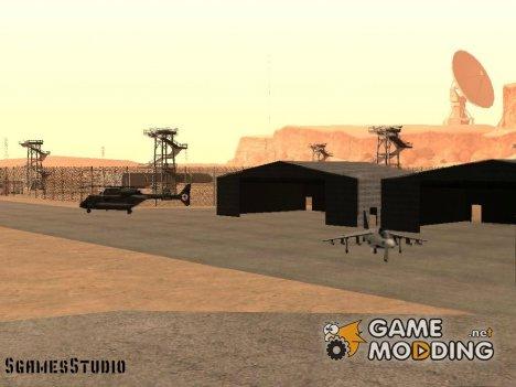 Mini update military base 69 for GTA San Andreas
