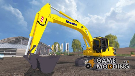 Komatsu PC 210 LC для Farming Simulator 2015
