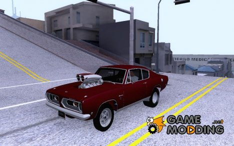 1968 Plymouth Barracuda Prostreet для GTA San Andreas