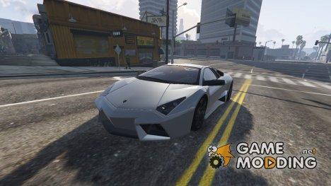 Lamborghini Reventón AUTOVISTA 9.0 for GTA 5