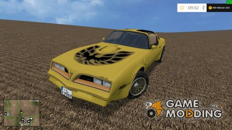 Pontiac Firebird v1.2 for Farming Simulator 2015