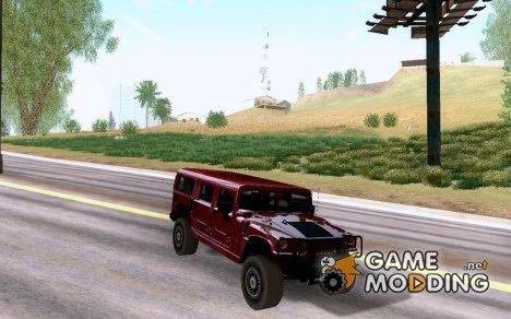 2006 Hummer H1 Alpha для GTA San Andreas