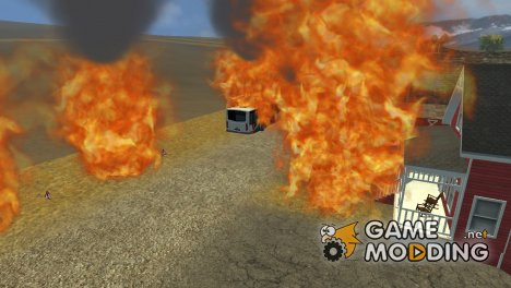 Fire for Farming Simulator 2013