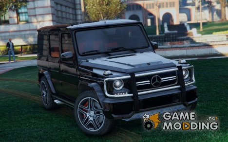 Mercedes-Benz G65 AMG v2.0 for GTA 5