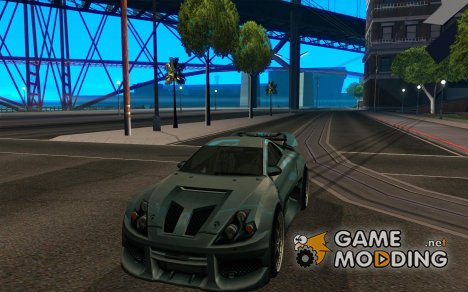 CyborX CD 10.0 XL GT v2.0 for GTA San Andreas