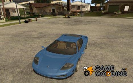 Turismo из GTA 4 for GTA San Andreas