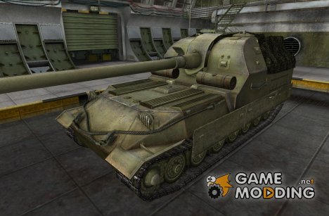Ремоделинг для арты Объект 261 for World of Tanks