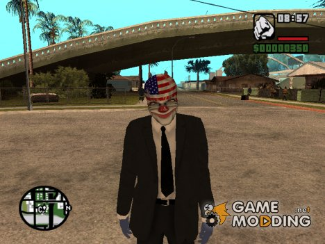 Dallas ( Payday ) для GTA San Andreas