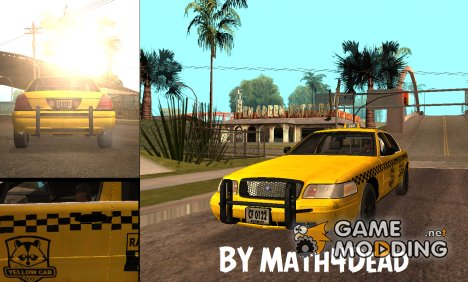 Ford Crown Victoria Taxi из Resident Evil: ORC для GTA San Andreas