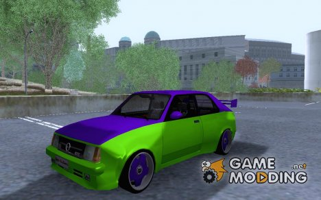 Opel Kadett D GTE - 2coloured Widebody для GTA San Andreas