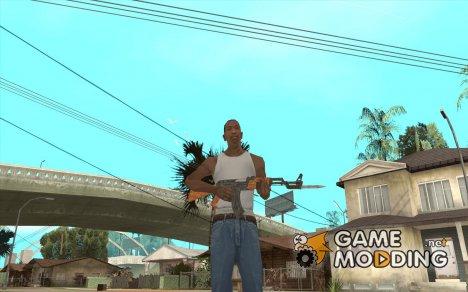 Ak 47 со Штыком for GTA San Andreas