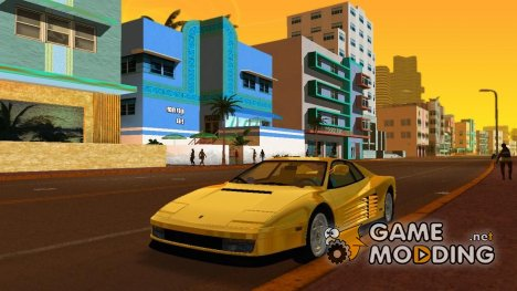 Ferrari Testarossa 1986 Miami Vice Testarossa for GTA Vice City