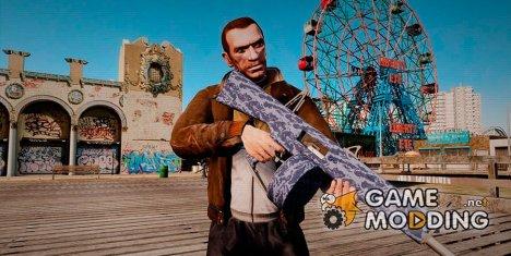 Автоматическое ружьё AA-12 Camo for GTA 4