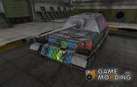 Качественные зоны пробития для Ferdinand для World of Tanks