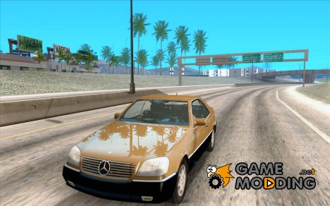 Mercedes Benz 600 SEC для GTA San Andreas