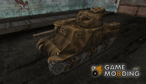 Шкурка для M3 Lee for World of Tanks