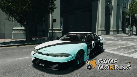 Nissan Silvia S14 Zenki Team Need for Speed для GTA 4
