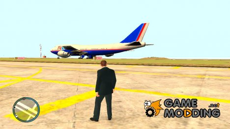 Нет розыска в Аэропорту для GTA 4