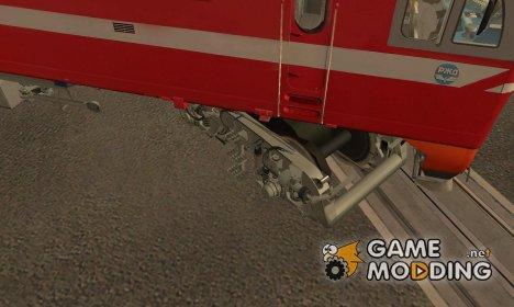 Оживление деталей поездов для GTA San Andreas