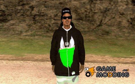 Rasta ped для GTA San Andreas