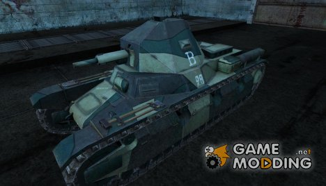Шкурка для AMX38 for World of Tanks