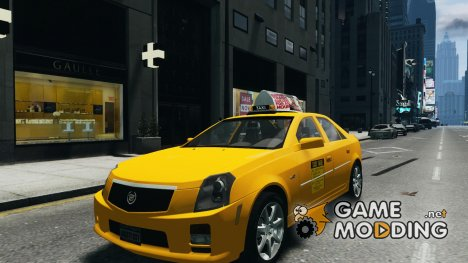 Cadillac CTS-V Taxi for GTA 4