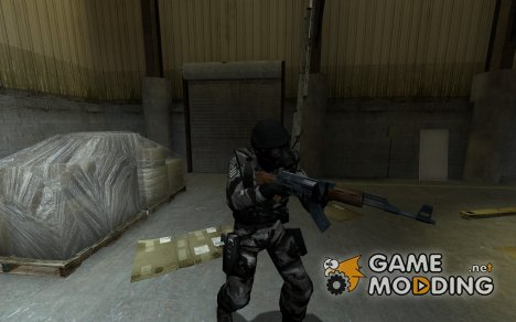 An Urban Camo SAS ReSkin for Counter-Strike Source