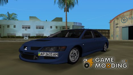 Mitsubishi Lancer Evolution VIII for GTA Vice City
