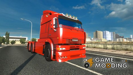 Kamaz 6460 for Euro Truck Simulator 2