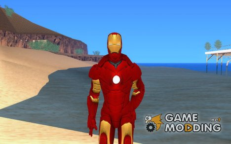 Iron man MarkIII for GTA San Andreas