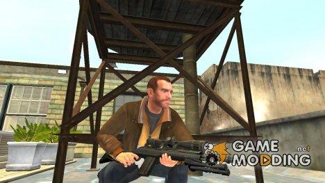 Полуавтоматическая винтовка M14 v.3 for GTA 4