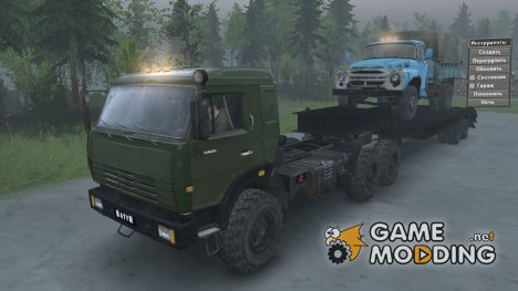 КамАЗ 44108 «Батыр» for Spintires 2014