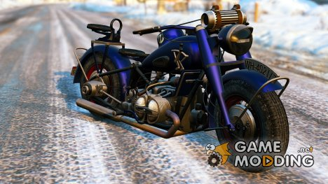 BMW R-75 War Version 1.0 for GTA 5