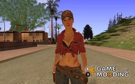 Misty from Black Ops for GTA San Andreas
