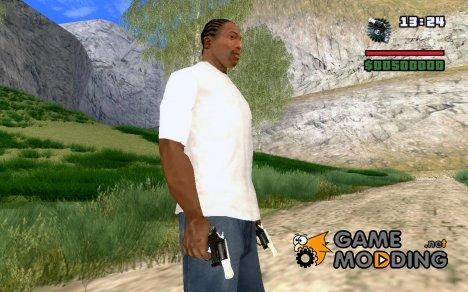 Замена пистолету для GTA San Andreas