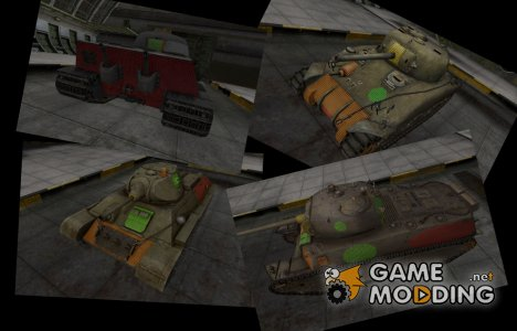 Зоны пробитий от Joit для World of Tanks